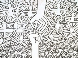 The-Marriage-of-Heaven-and-Hell-1984-c-Keith-Haring-Foundation